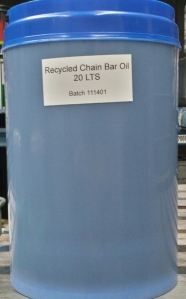 Recycled Chair Bar Oil